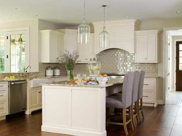 Creamy Dreamy Traditional Kitchen 2014 Hgtv