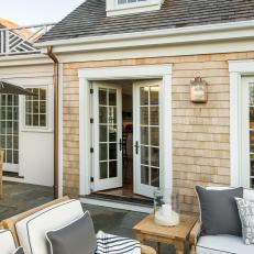 Exceptional Spacious Back Patio With French Doors