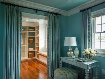Walk-in Closet and Dressing Table