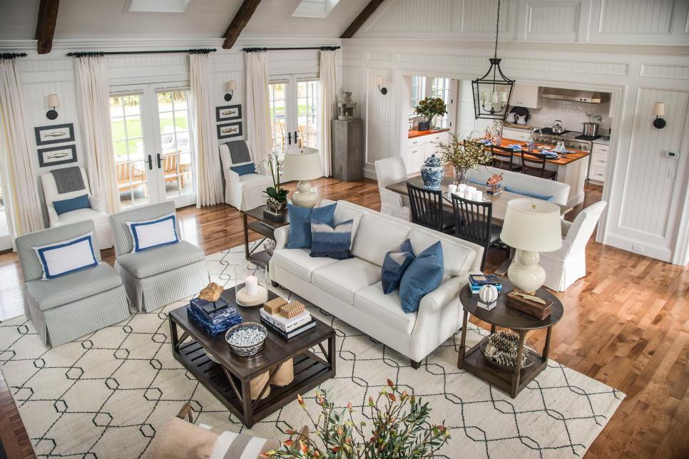 Seating For All. HGTV Dream Home 2015 Great Room HGTV Dream Home 2015 HGTV