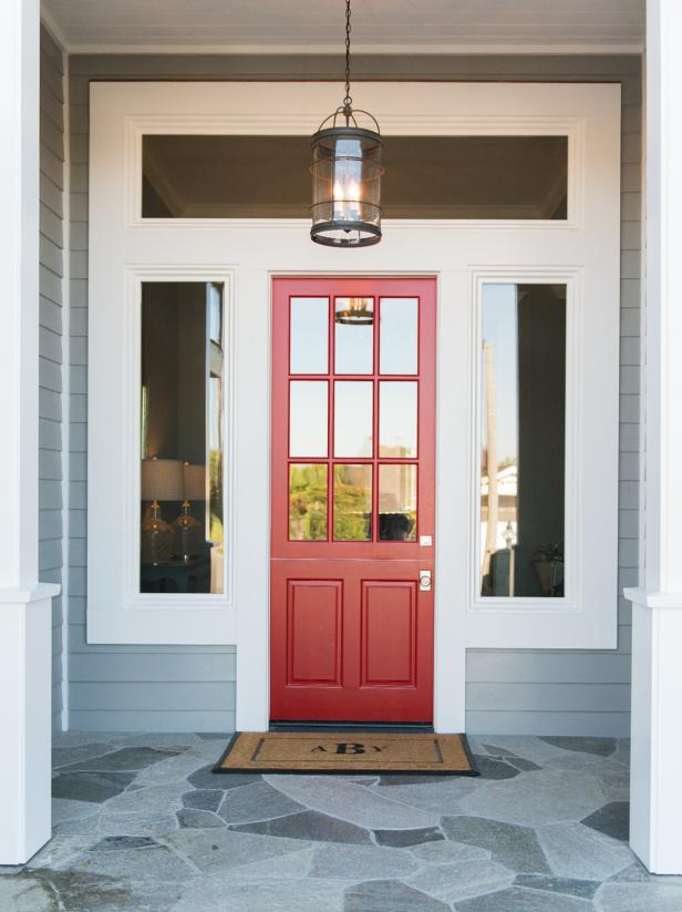 Red Front Door From Lulu Designs