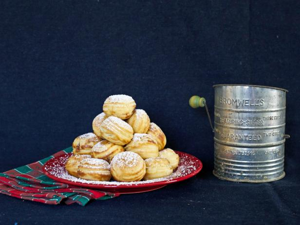 Aebleskivers, Danish doughnuts, make a great breakfast for overnight holiday guests.