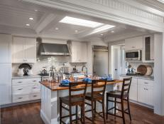 White Kitchen From HGTV Dream Home 2015