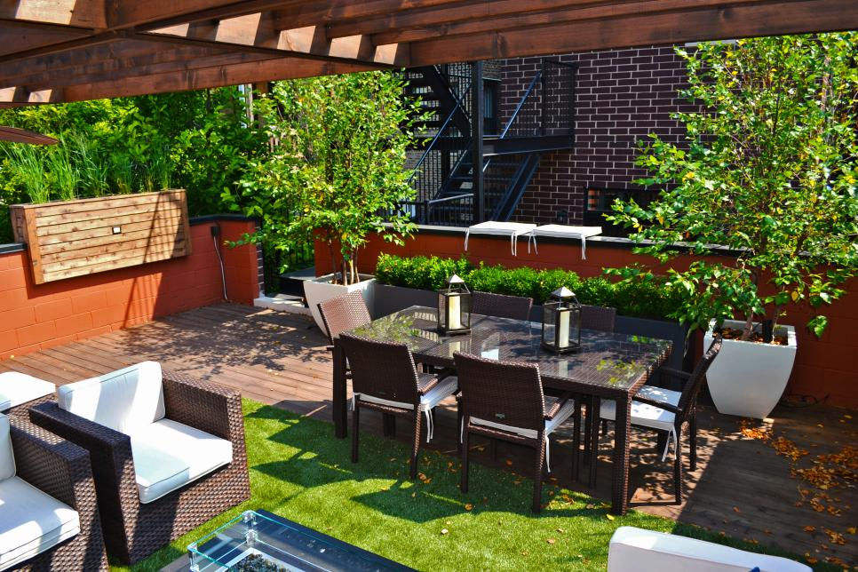 Chicago Roof Deck Garden HGTV