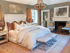 Alluring Bedroom With Mix of Styles
