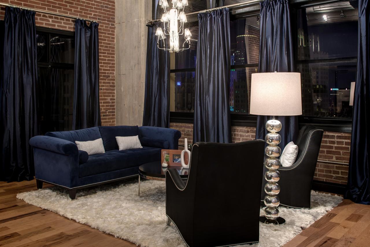 loft curtains. 3. think vertically loft curtains i