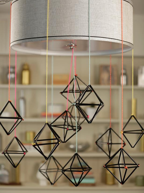 Modern Himmeli Ornament Centerpiece