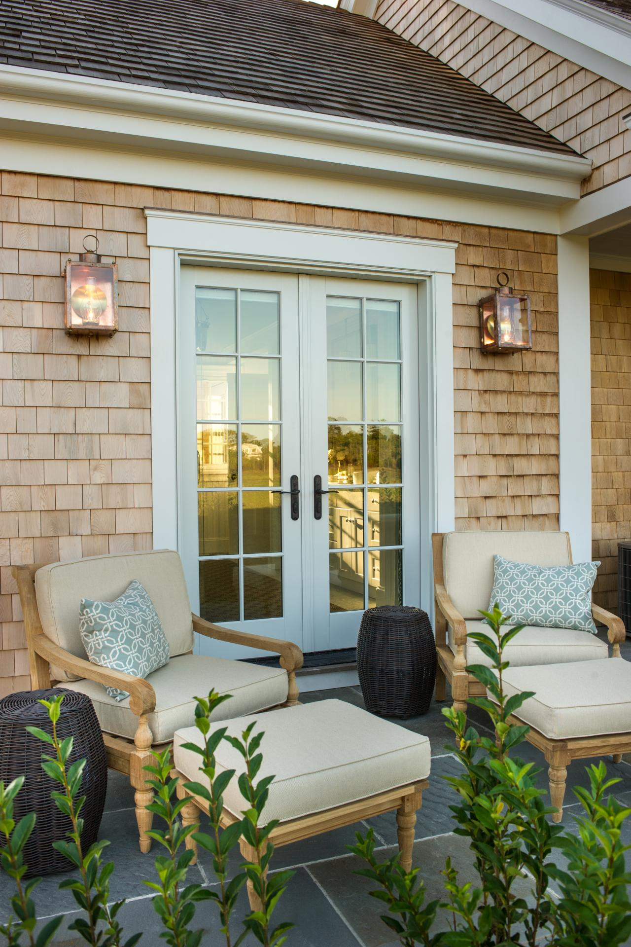 Hgtv dream home 2015 master patio hgtv dream home hgtv for Patio entry doors