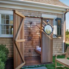 Marvelous Generous Outdoor Shower Bench Ideas   The Best Bathroom Ideas .