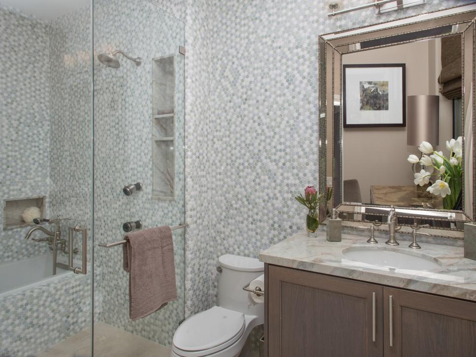 20 small bathroom before and afters hgtv - Small Bathroom Designs