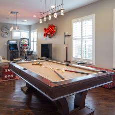 Property Brothers' Loft Game Room