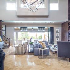 Light-Filled Great Room