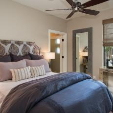 Peaceful Transitional Guest Room