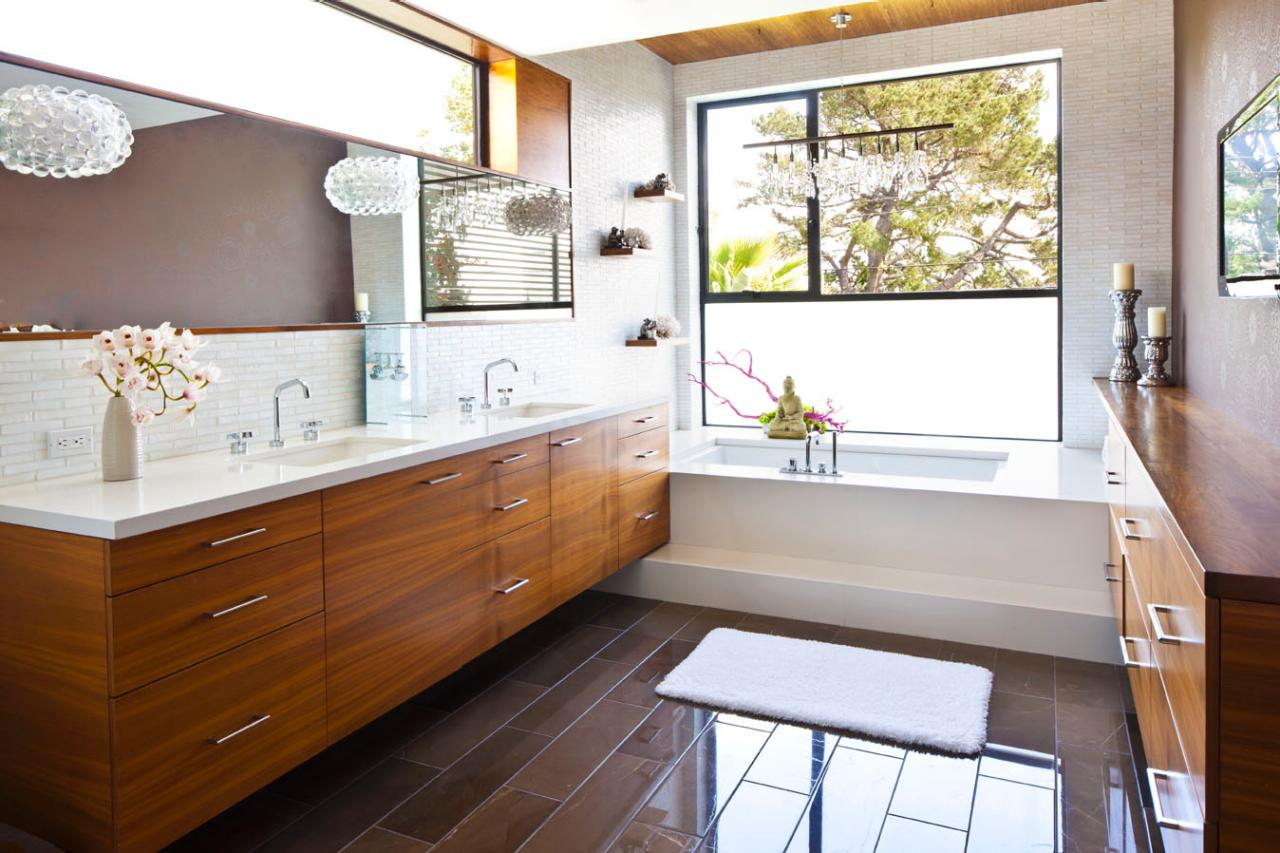 Midcentury Modern Bathroom Photos HGTV