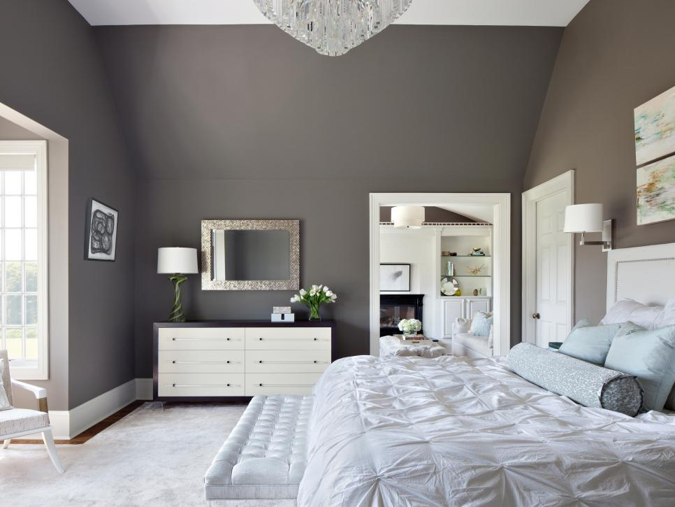 Dreamy bedroom color palettes hgtv Master bedroom paint colors