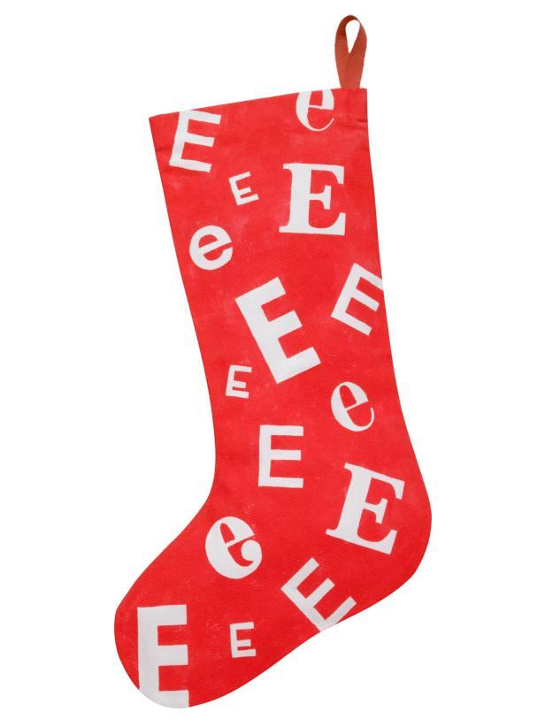Monogrammed DIY Stocking