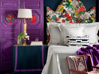 Eclectic Guest Room With Asian Accents