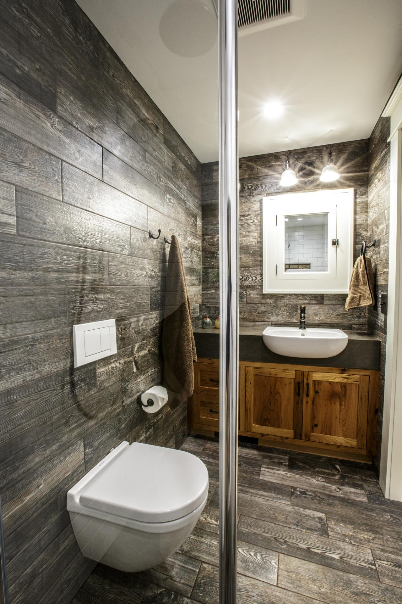 Rustic bathroom photos hgtv for Bathroom designs hgtv
