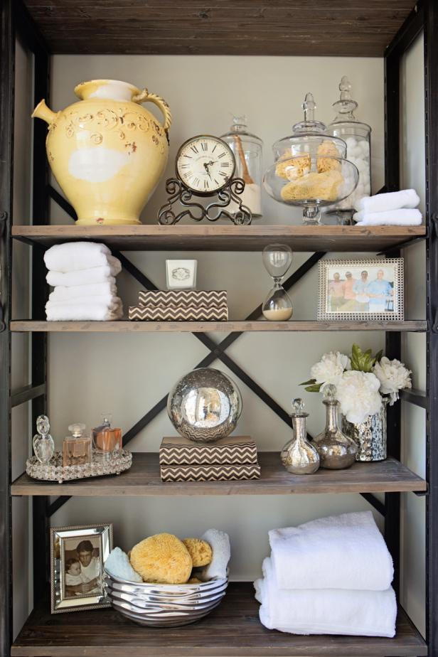 Industrial Bookshelf Features Family's Eclectic Keepsakes