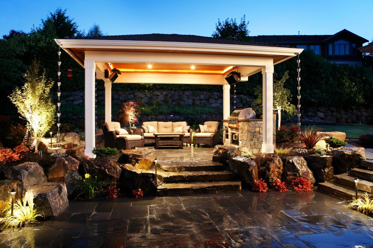 Photos alderwood landscaping hgtv Outdoor living areas images