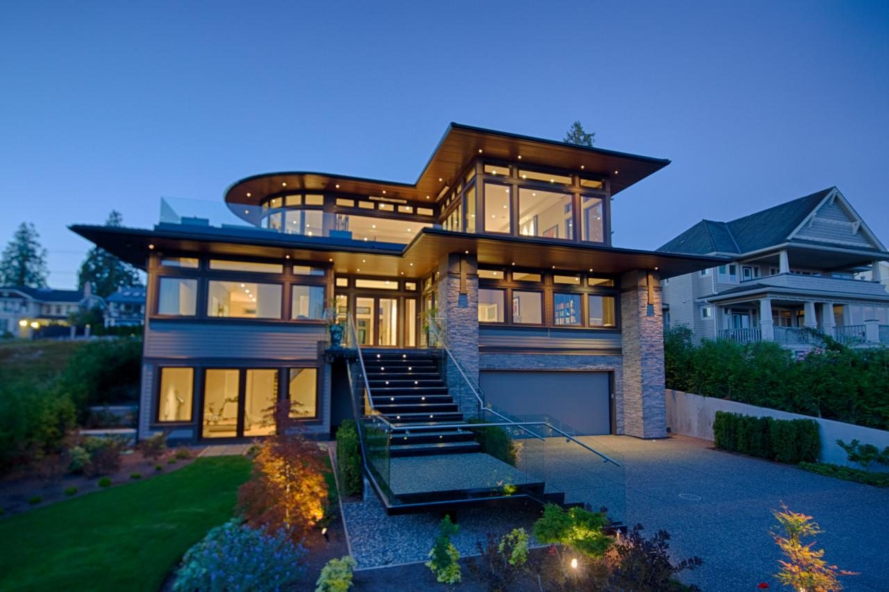contemporary architecture - Exterior Home Design Styles