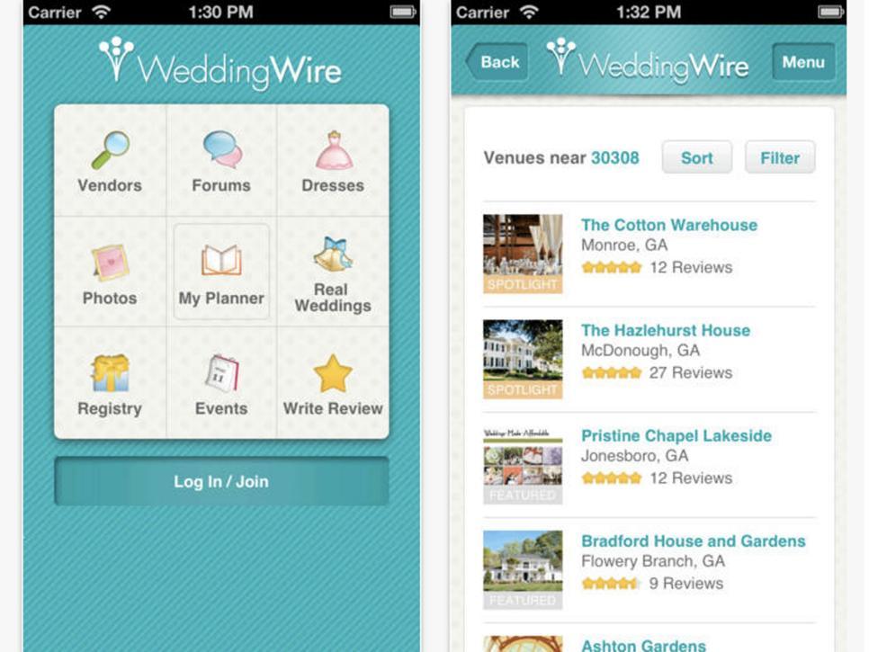 Top wedding planning apps hgtv for Redesign my room app