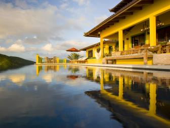 Pool: Balinese-Inspired Villa in Tortola, British Virgin Islands