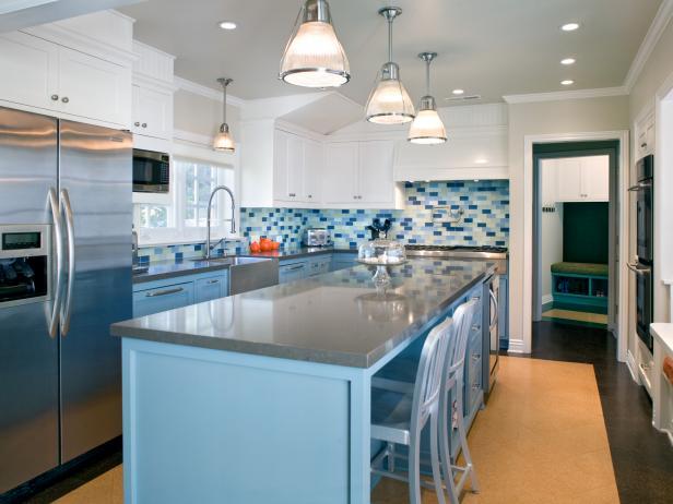 Blue Kitchen Design Ideas With Pictures Hgtv
