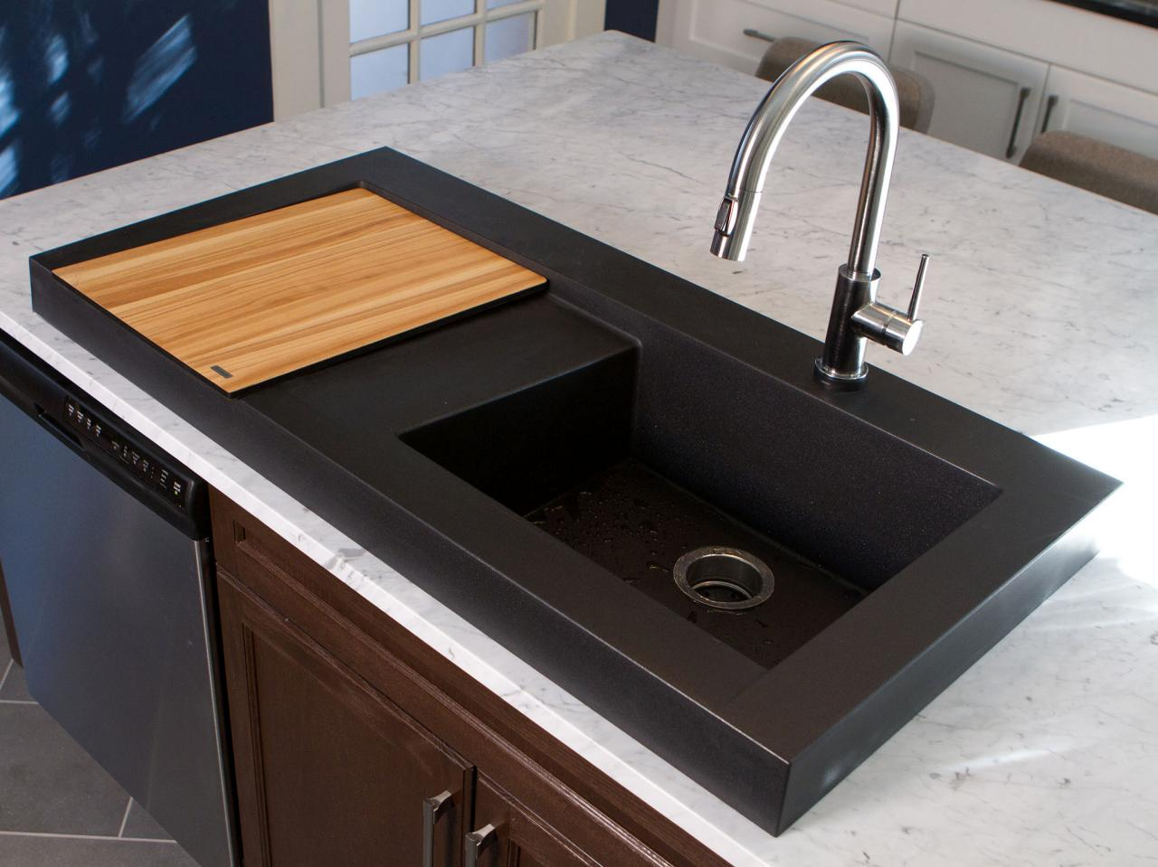 Black Slate Kitchen Sink
