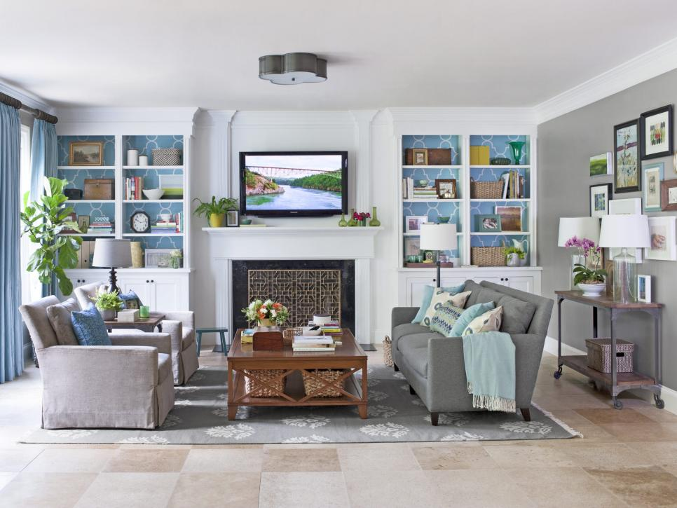 How to finish decorating your living room hgtv - Pictures of decorated living rooms ...
