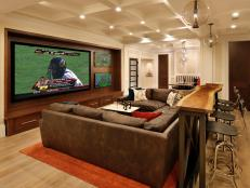 Supersized Media Room