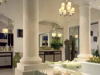 Luxurious Neoclassic Master Bathroom