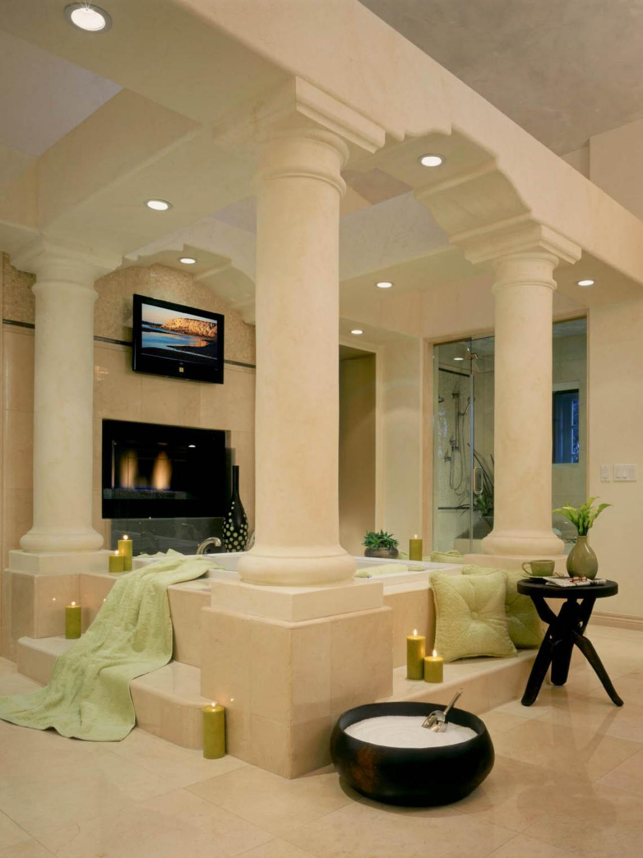 Photo page hgtv - Master bathroom design and interior guide ...
