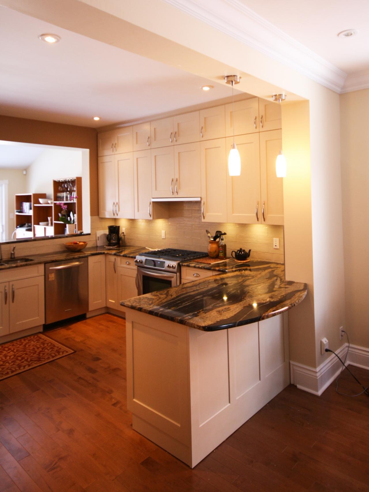 UShaped Kitchen Design Ideas Pictures  Ideas From HGTV HGTV - U shaped modern kitchen designs