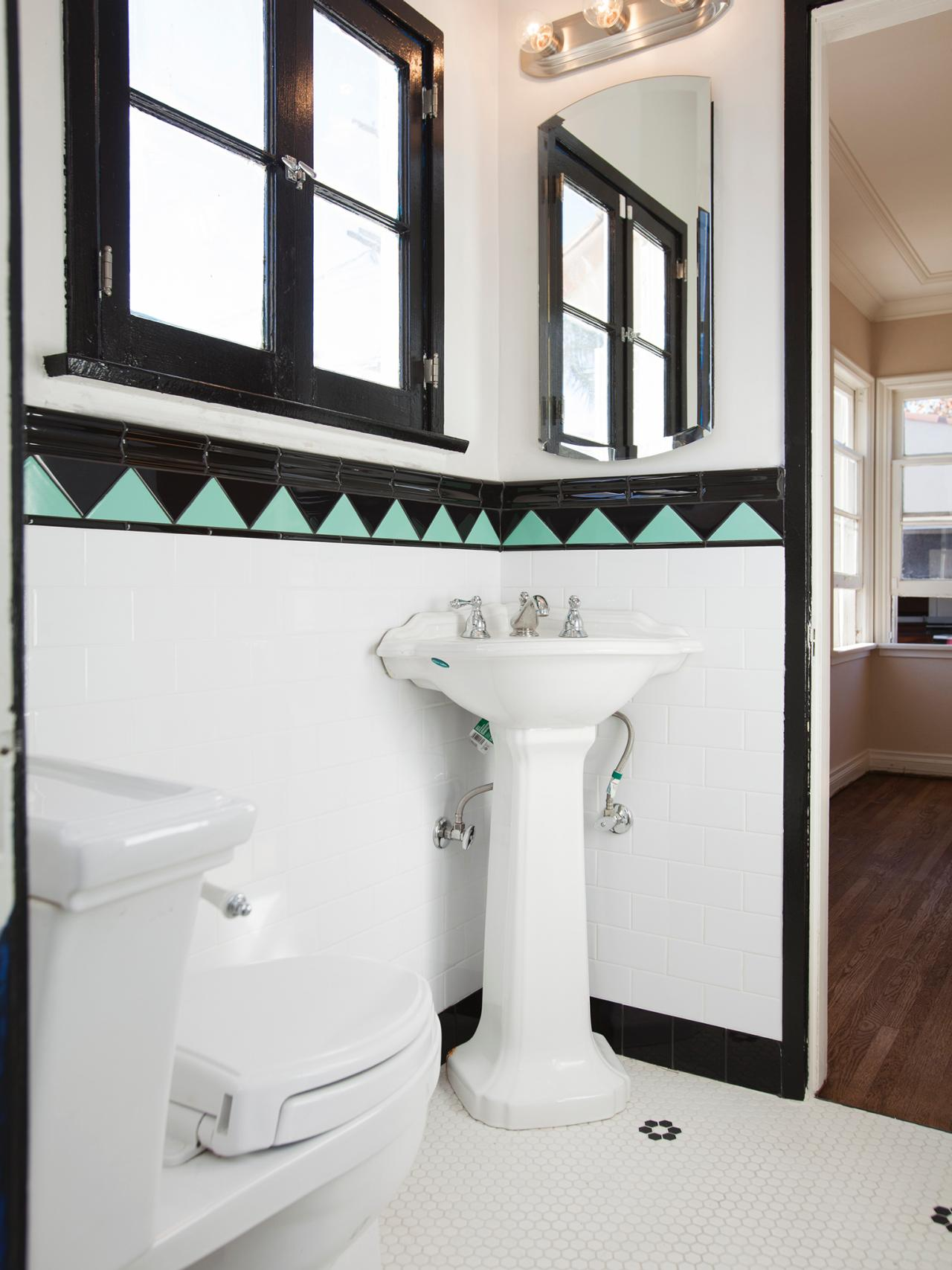 Photo page hgtv - Deco toilet zwart ...