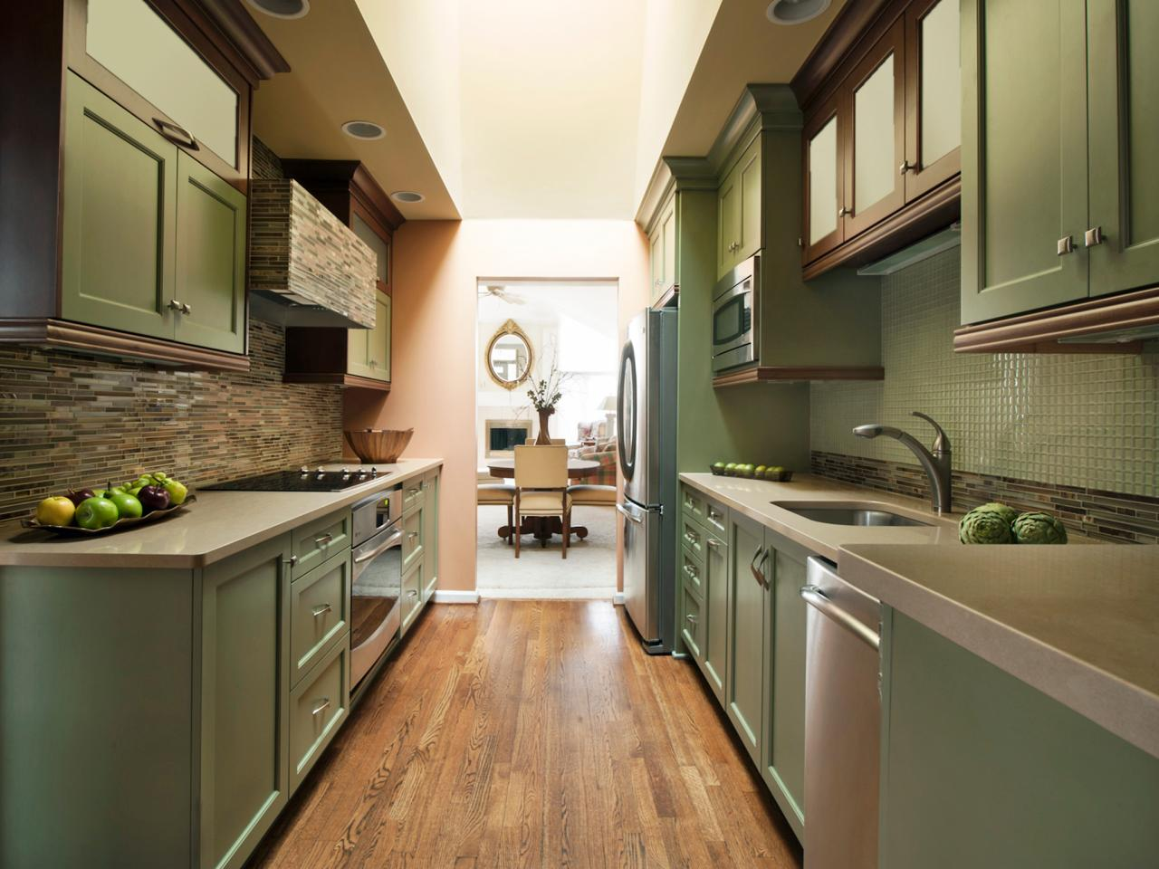 Small Galley Kitchen Renovations Adorable Small Galley Kitchen Design Pictures & Ideas From Hgtv  Hgtv 2017