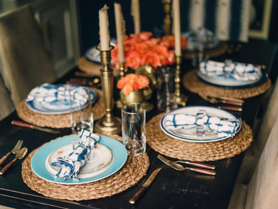 Vintage Table Setting Hgtv