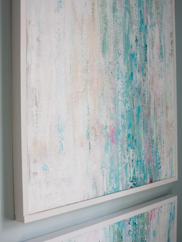 Diy art ideas hgtv - Wall decor painting ideas ...