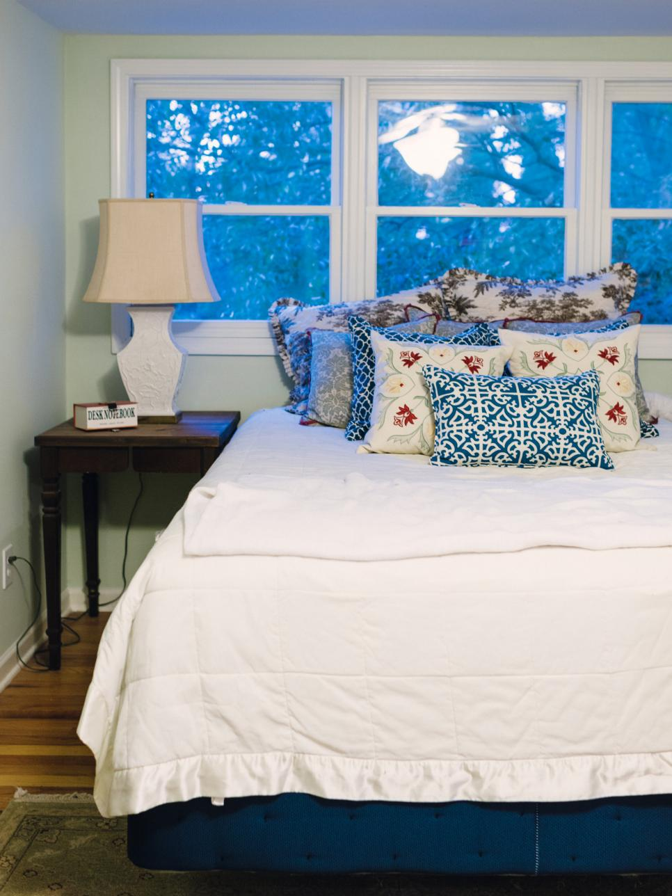 cottage style bedroom. Weathered Finish Cottage Style Bedroom Decorating Ideas  HGTV