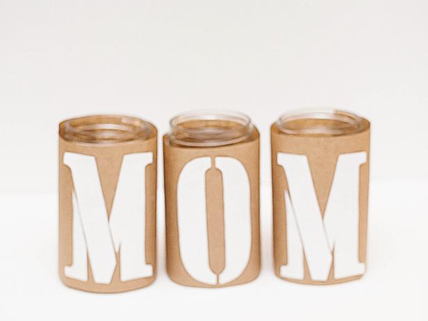 Create a special centerpiece as a tribute to Mom this Mother's Day. The kids will love getting involved in this simple, family-friendly project.
