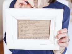 Kids' Craft: Frame an Old Family Recipe