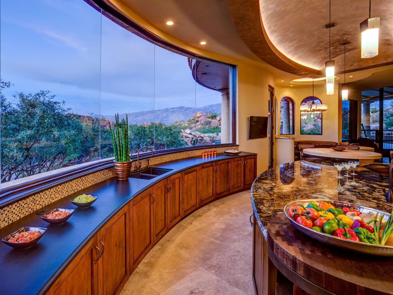 southwestern kitchen with a view lori carroll hgtv what was the biggest issue the design addressed