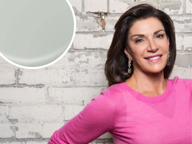 Hilary Farr Picks Gray Shade for Best Calming Bedroom Color