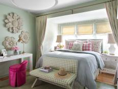 Feminine Cottage-Style Bedroom