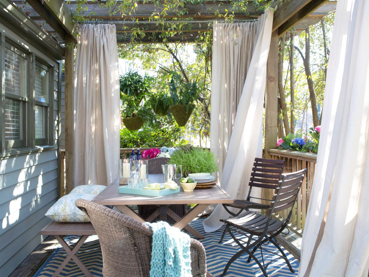 outdoor dining room makeover after the outdoor space of