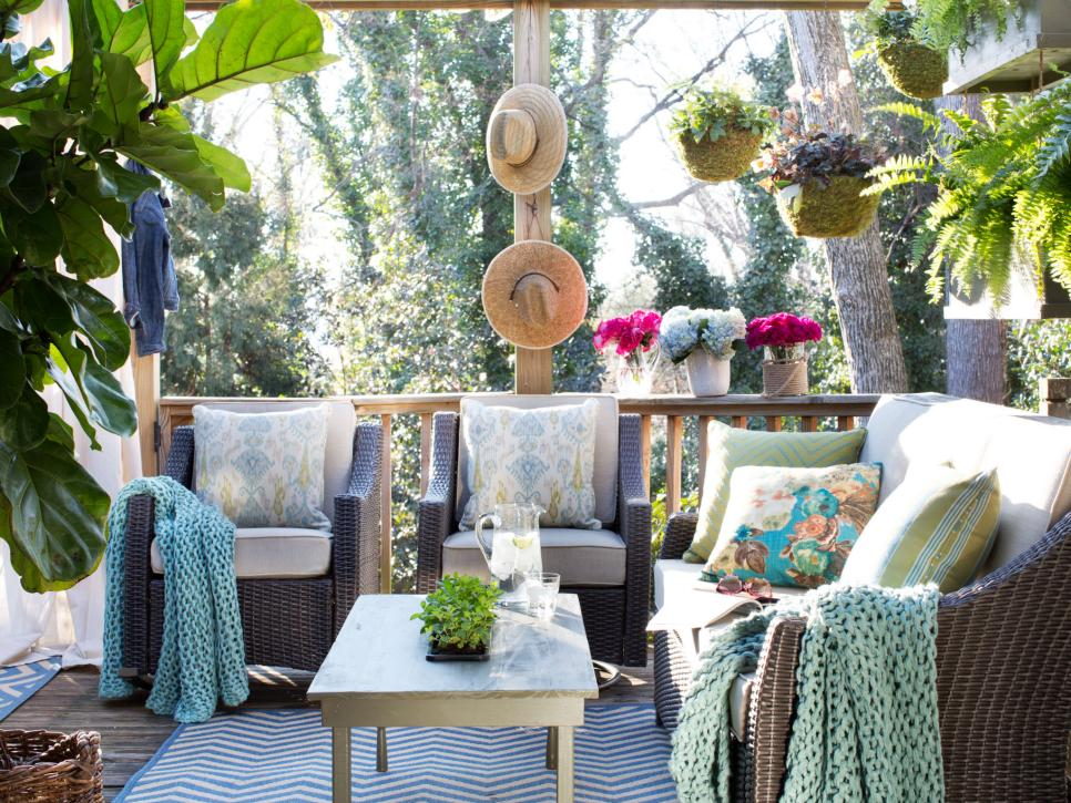 Outdoor Living Room Ideas Hgtv