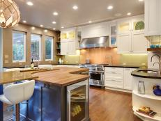 Fabulous and Fun Eclectic Kitchen With Bonus Features