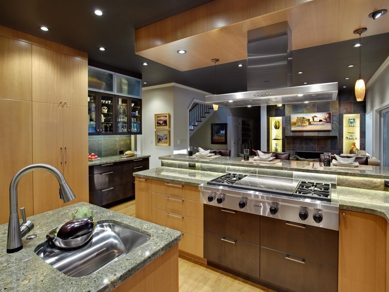 Drop Ceiling Accessories Modern Drop Ceiling Ideas For Kitchen - Modern kitchen ceiling designs