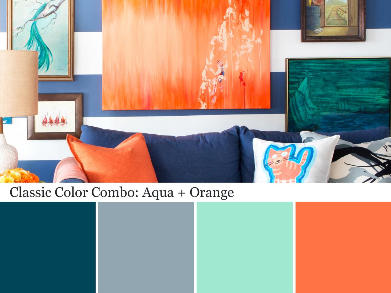 Decorating with aqua color palette and schemes for rooms Decorating color schemes