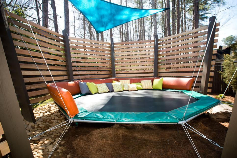 FamilyFriendly Outdoor Spaces HGTV - Backyard fun ideas